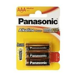 Panasonic AAA - LR3 Alkaline 1,5V elem csomag 4db/csomag