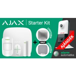 AJAX P-PACK HomeSiren + DCN-CF2281W (HUB+MotionProtect+DoorProtect+SpaceControl+HomeSiren+DCN-CF2<wbr> 281W