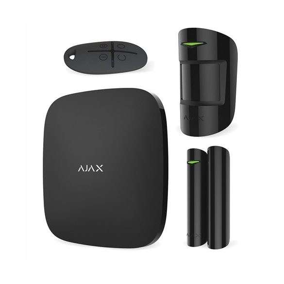 AJAX STARTER KITT BL 1/HUB 1/DoorProtect 1/MotionProtect 1/SpaceControl