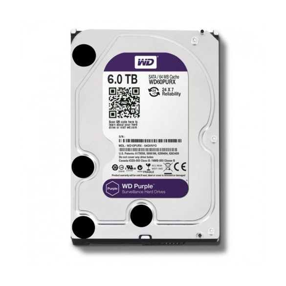 HDD WD 6TB PURPLE